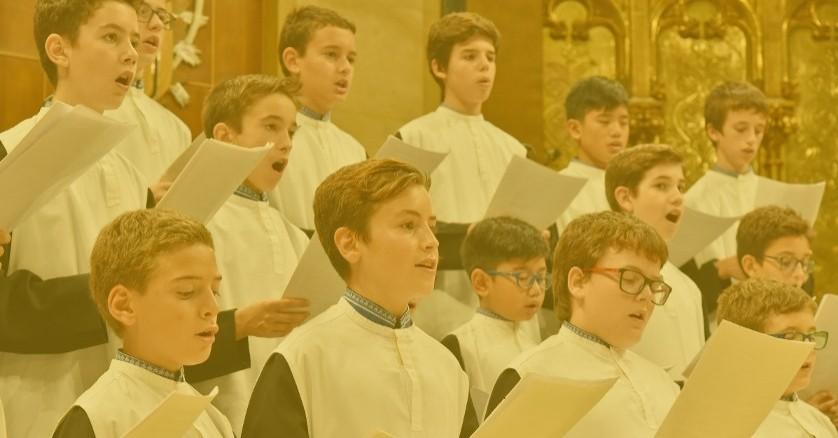 Concert de l'Escolanía de Montserrat à La Pasión de Olesa