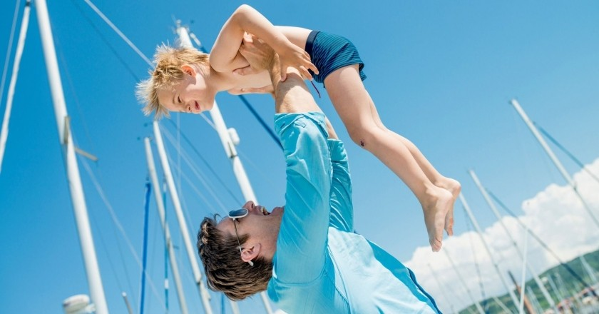 Vacances en veler a Menorca amb nens
