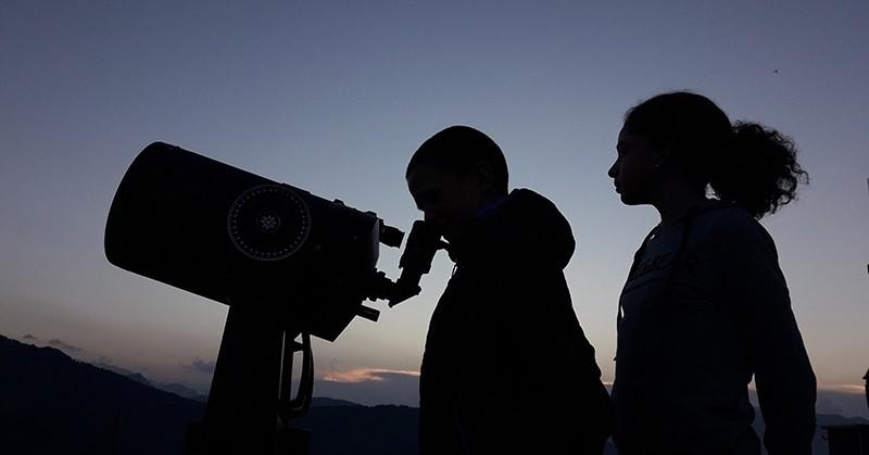 Observation astronomique avec dégustation de liqueurs pyrénéennes