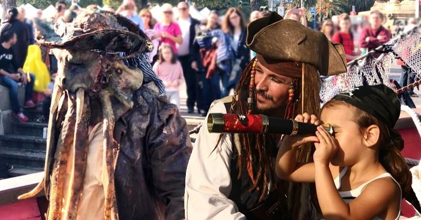 Le meilleur spectacle de pirates à Barcelone. Profiter comme un vrai pirate