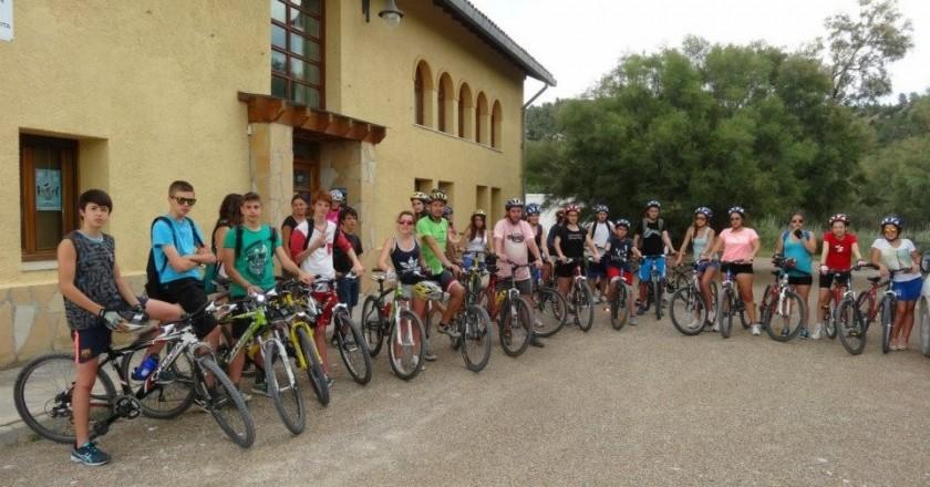 Ruta en bicicleta por la Reserva Natural de Sebes