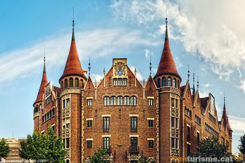 Barcelona barcelon s barcelona - Casa de las punxes ...