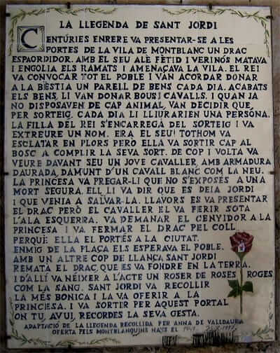 Montblanc Medieval (Llegenda de Sant Jordi)