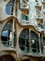 Casa Batllo (Gaudí Modernist route in Barcelona)