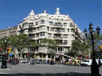 La Pedrera (Gaudí Modernist route in Barcelona)