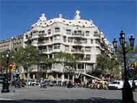La Pedrera (Ruta modernista de Gaudí a Barcelona)