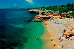Cala Llenya a l'Ametlla de Mar