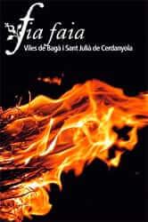 Cartell de la Fia Faia a Sant Julià de Cerdanyola i a Bagà
