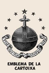 Emblema de la Cartoixa (Monestir Escaladei)