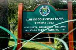 Camps de golf a la Costa Brava