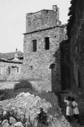 Campanar de Santa Maria d'Isona després de la Guerra