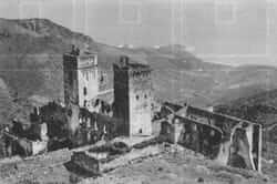 Monastery of Sant Pere de Rodes (photo antiga)