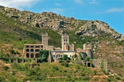 Paratge the Monastery of Sant Pere de Rodes
