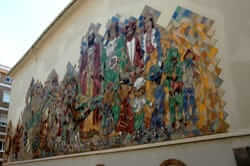 Mural de la Patum de Berga