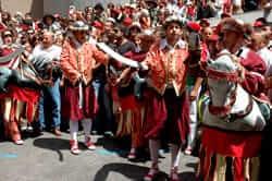 Turcs i caballets de la Patum de Berga