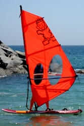 Windsurfing on the Costa Brava