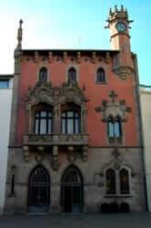 Casa Modernista Clapés, actual ajuntament de Granollers
