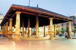 Plaça Porxada Modernista de Granollers