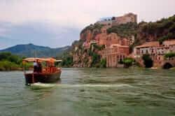 Per l'interior del riu Ebre (llagut benifallet miravet)