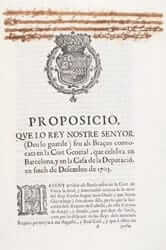 Cataluña antes de 1714 (cortes 1705 los tres comunes)