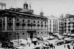 Before 1714 Catalonia (Generalitat de Catalunya in black and white)