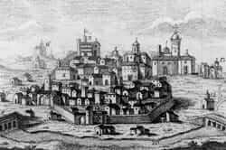 03. Les batailles de 1714 (reconstruit 1786 Manresa, droits Espinalt Bernat)