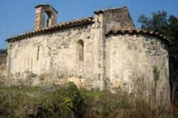 Ruta del volcán del Cuerno del Boc (ermita de Sant Medir)