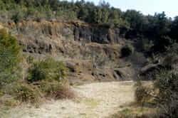Ruta del volcán del Cuerno del Boc (gredas vuelca cuerno del chivo)