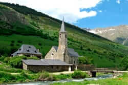 The Vall d'Aran a diferent Territory (Sanctuary of Montgarri)