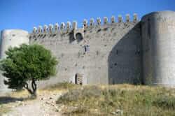 Ruta del castell del Montgrí (planta del Castell del Montgri)