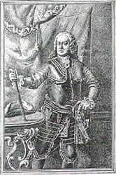 Los protagonistas del asedio de 1714 (Antoni Villarroel Pelaez 1714)