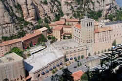 Route of Catalan art of the eighteenth century (Abbey of Montserrat)