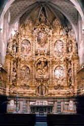 Route of Catalan art of the eighteenth century (santa maria church altarpiece arenys sea)