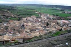 Ruta de Sanaüja (Sanauja Vista Desde Del Castillo)