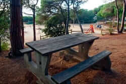 Pique-nique de Barcelone (Mataro Forest Park Maresme)