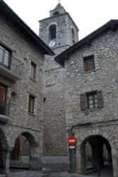 Ruta de Bellver de Cerdanya (Bellver Mayor Church And Plate)
