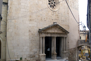 Route through Mont-Roig del Camp (Old Church Montroig)