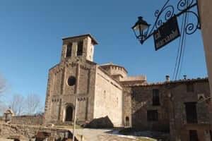 El románico en el Alt Berguedà (Iglesia De Santiago De Frontanya)