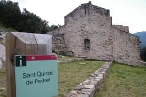 El románico en el Alt Berguedà (Iglesia De Sant Quirze De Pedret)