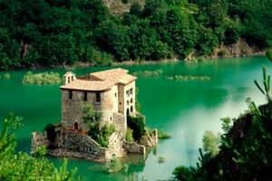 El románico en el Alt Berguedà (Panta Baells De San Salvador De La Ternera)