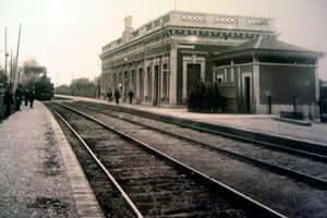 150 años del ferrocarril de Tarragona en Martorell (Estacio De Cornella De Llobregat Barcelona Martorell Tarragona)
