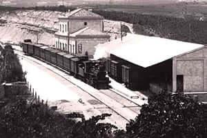 150 ans Tarragona Railway Martorell (Tren Sant Sadurni Principes Andenes 1900)