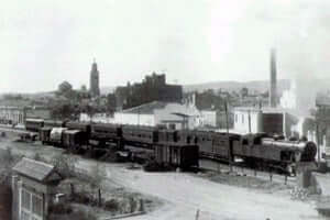 150 years Tarragona in Martorell Railway (Tren Estacio El Vendrell)