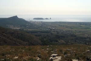 Medieval castles in the vicinity of Montgrí (Medes Islands From Del Castillo Del Montgri)