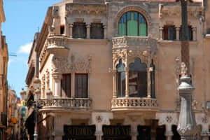 Ruta Gaudí en Reus (Casa Navas Domenech Montaner Reus)