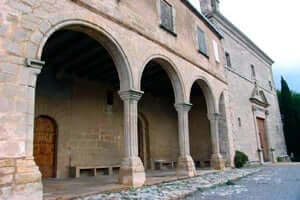 The Sanctuary of the Bovera (the Cloister Romanesque De La Bovera)