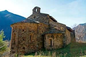 Ruta del Pirineu Comtal: per una volta catalane identitat médiévale (Esglesia Sant Pere De Burgal Escalo)