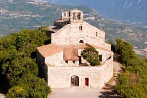 Ruta del Pirineu Comtal: per una volta catalane identitat médiévale (Santa Maria Del Castell de Mur Mur)