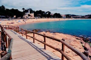 Coves and beaches of Sant Feliu de Guixols (Playa De Sant Pol)