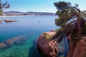 Coves and beaches of Sant Feliu de Guixols (Sa Caleta Sant Feliu)
